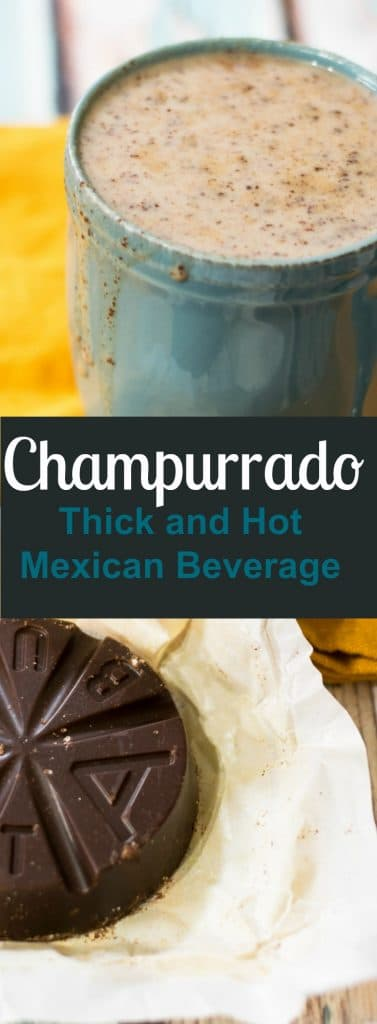 This champurrado recipe is perfect for the Cold winter months.