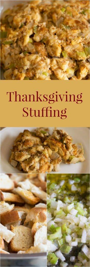 thanksgiving stuffing recipe