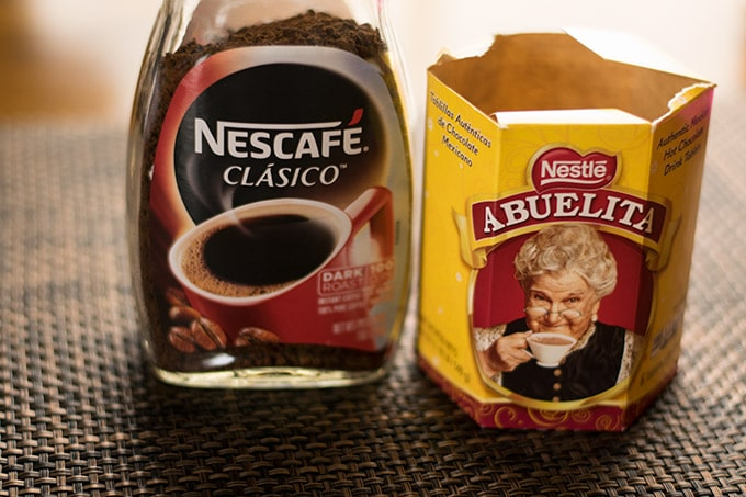 nescafe and abuelita chocolate