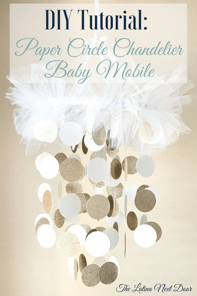 Beautiful DIY Baby mobile