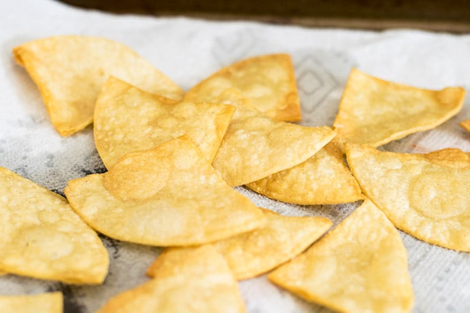 tortilla chips made at home