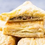 tuna emapanadas are easy thanks to frozen puff pastry