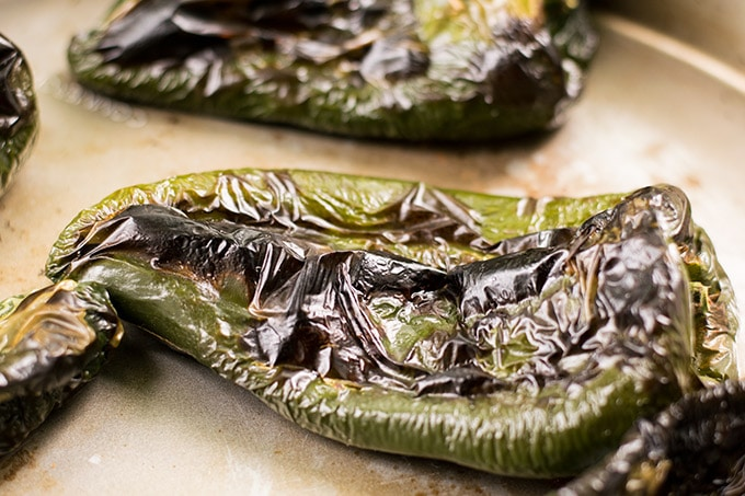 Chiles Rellenos are the Mexican version of stuffed peppers. They make an amazing weeknight dinner and are easier than they look!