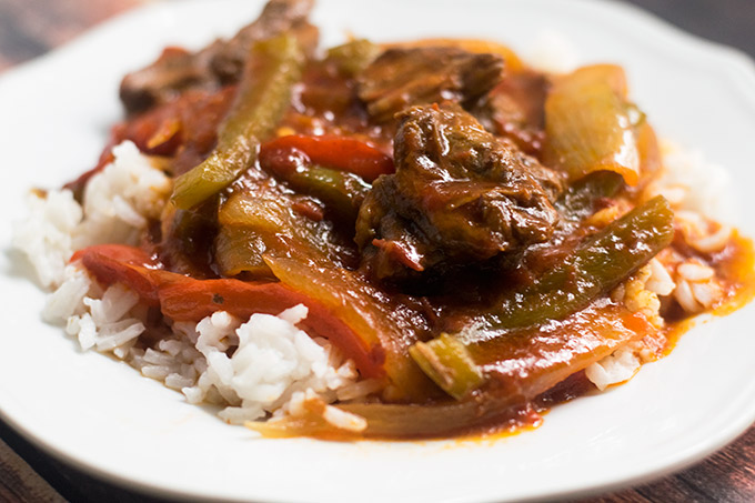 how to prepare pepper steak
