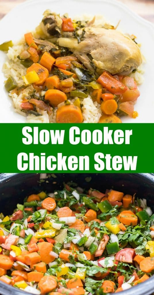 slow cooker chicken stew #slowcookerrecipes #chicken #stews #stews #chickenstew