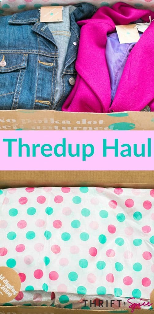 thredup haul #ad #secondhandfirst #thredup