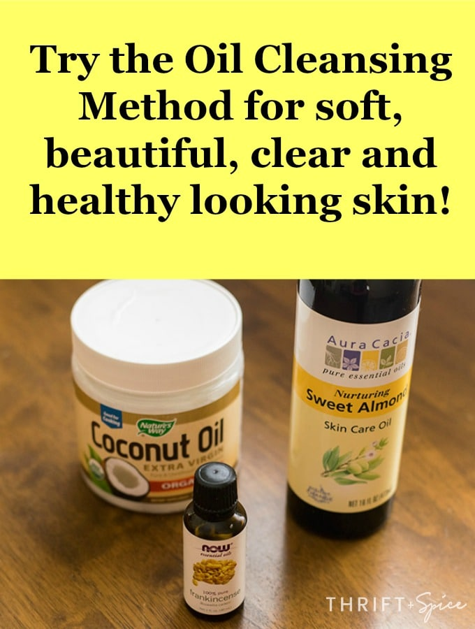get beautiful clear skin with the oil cleansing method