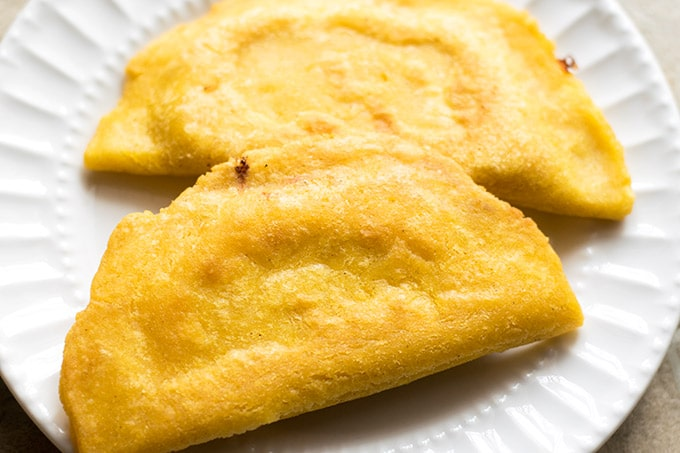 fried cheese quesadillas