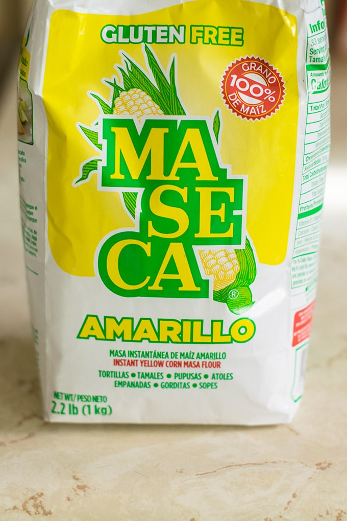bag of maseca