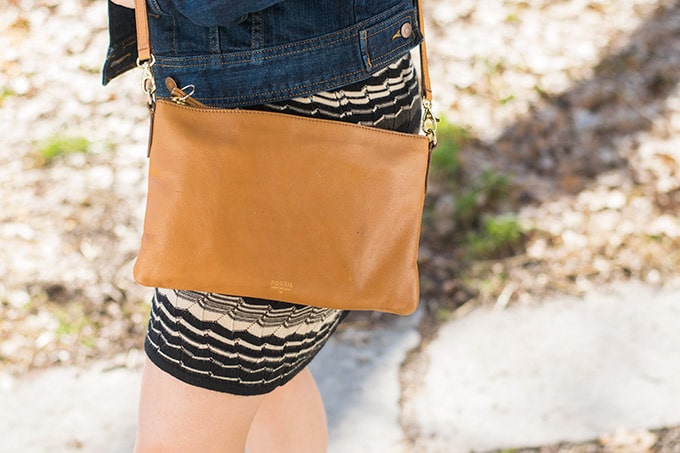 fossil purse from thredup