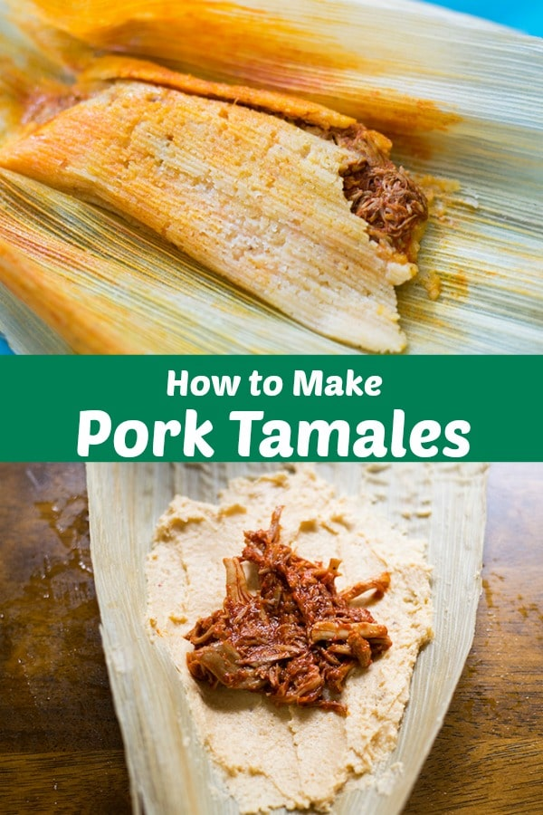 Learn how to make authentic pork tamales with step by step directions