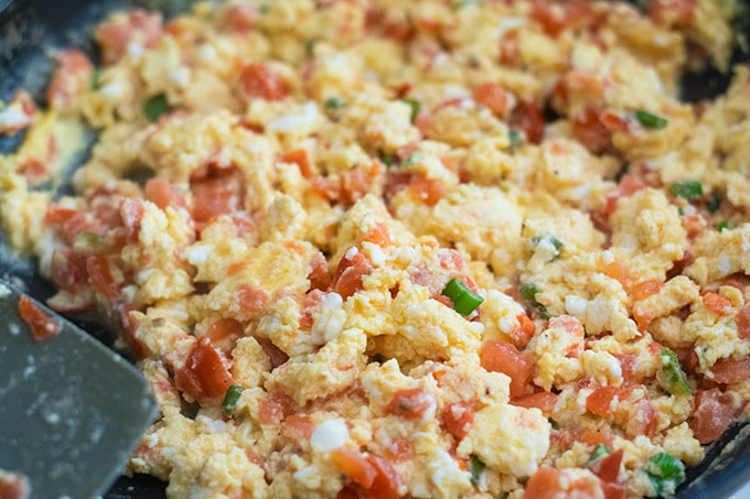 colombian style eggs