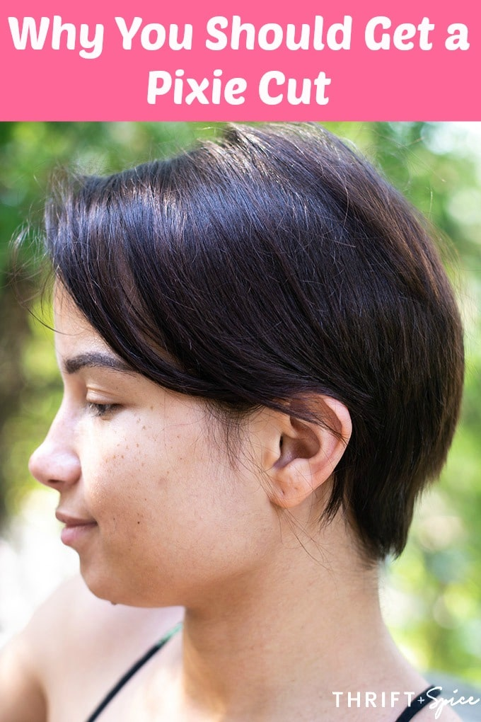 Why You Should Get A Pixie Cut Thrift And Spice