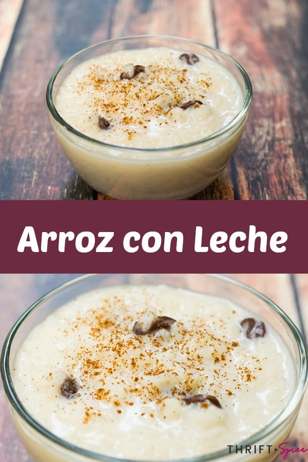 mexican rice pudding or arroz con leche is perfect for breakfast or dessert! #mexicanfood #breakfast #dessert