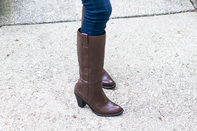 brown boots #ad