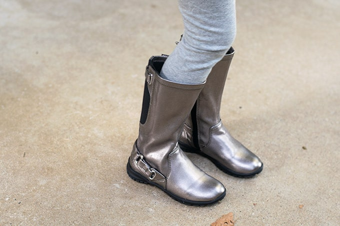 gray boots #ad