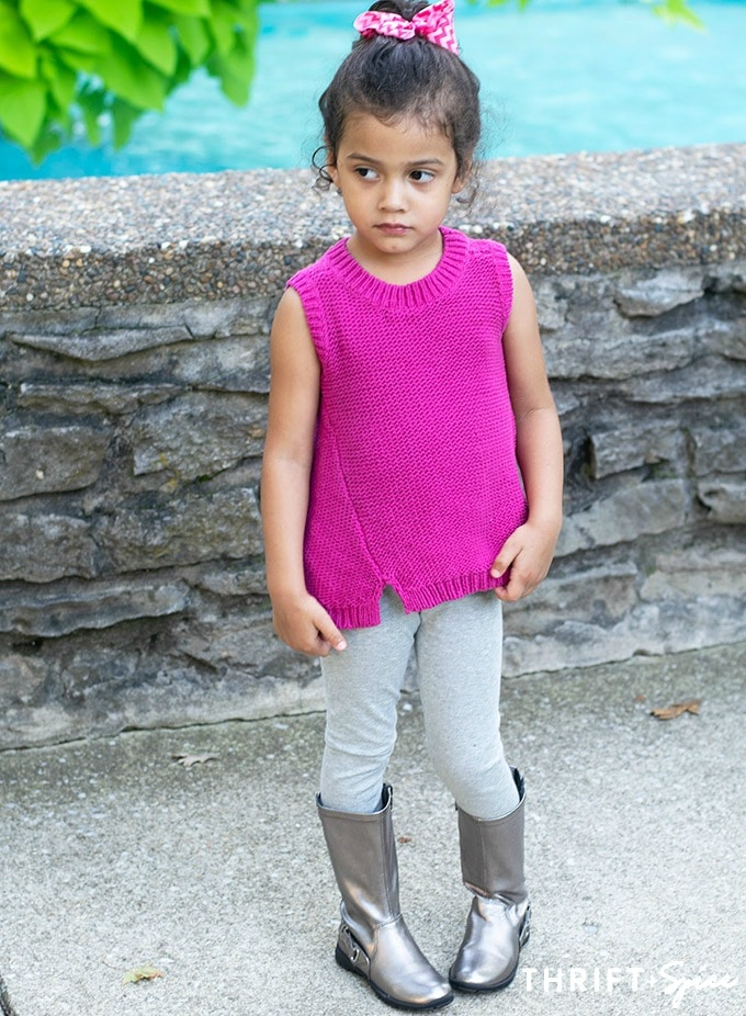 pink sleeveless sweater #ad