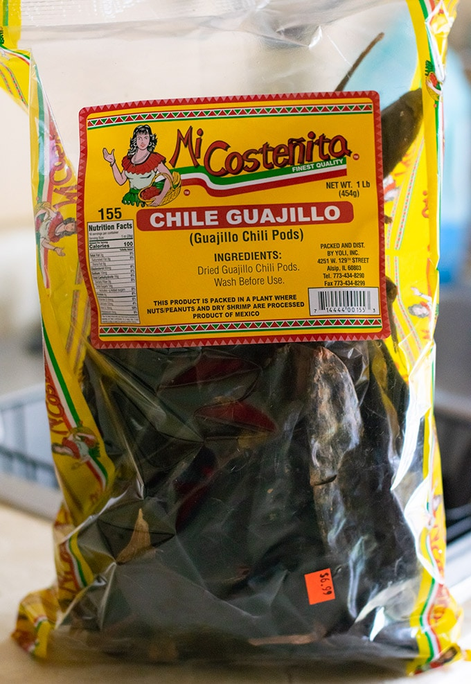 bag of chile guajillo