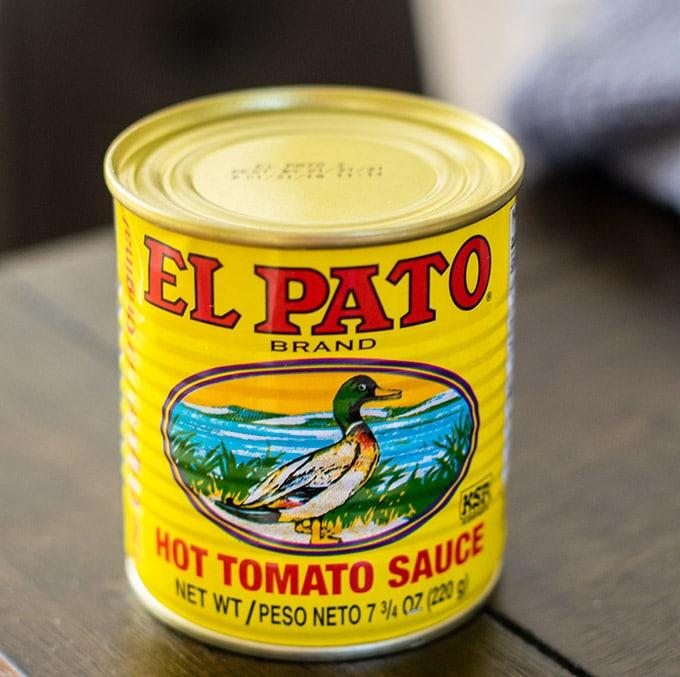 el pato hot tomato sauce
