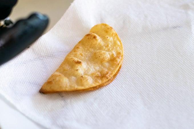 how to make hard taco shells