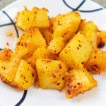 salsa macha potatoes