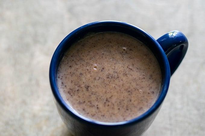 champurrado in a mug