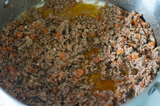 ground beef mixture for taquitos