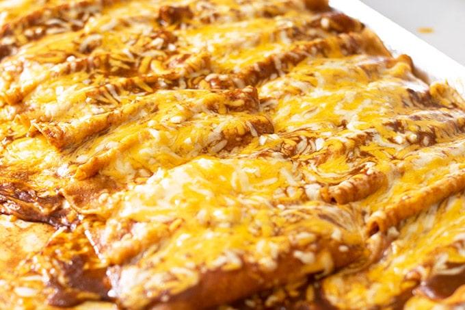 baked tex mex cheese enchiladas