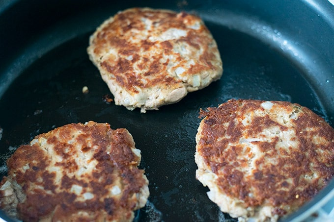 cooking patties