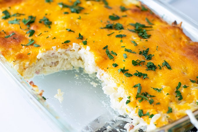 cooked hashbrown casserole