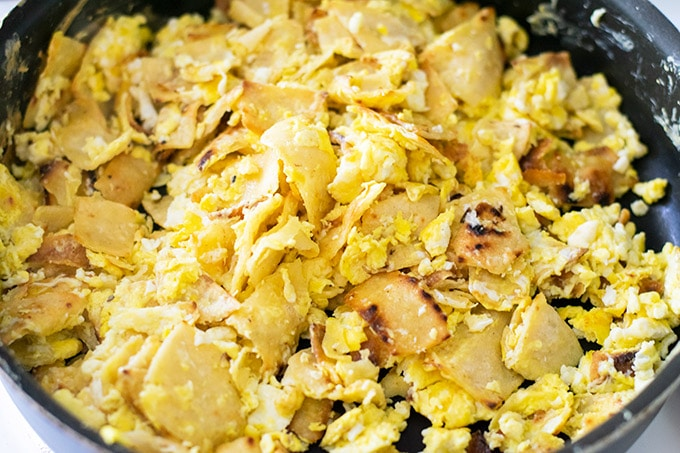 cooked migas