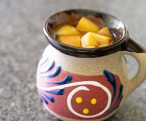 mexican christmas punch in a mug