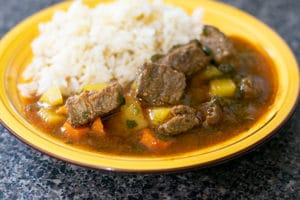 Easy Beef Stew (Estofado de Res)