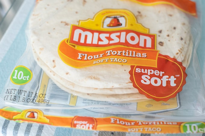 bag of flour tortillas