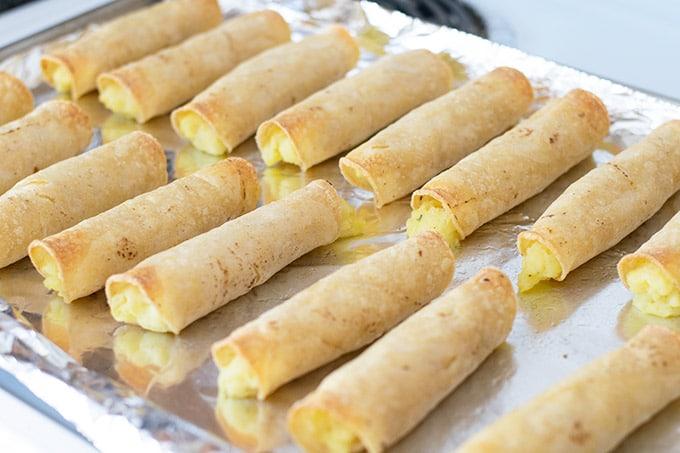 baked potato taquitos